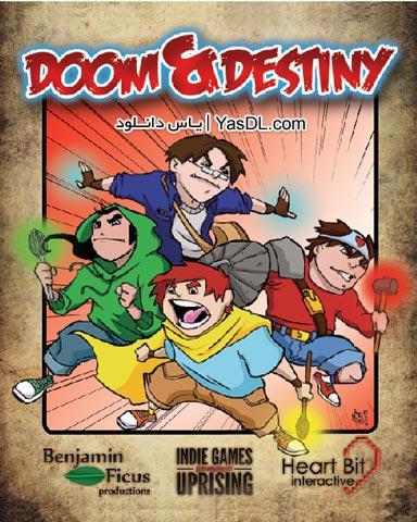 دانلود بازی کم حجم Doom And Destiny برای PC
