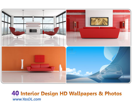 دانلود مجموعه 40 والپیپر طراحی دکوراسیون خانگی Interior Design HD Wallpapers & Photos