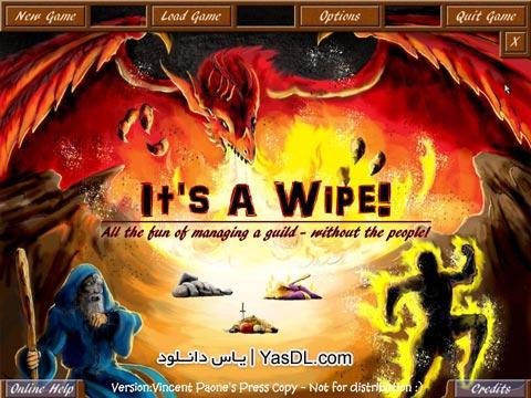دانلود بازی کم حجم Its A Wipe برای PC