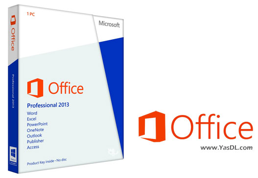 دانلود آفیس 2013 - Microsoft Office Professional Plus 2013 SP1 15.0.4693.1001 x86/x64