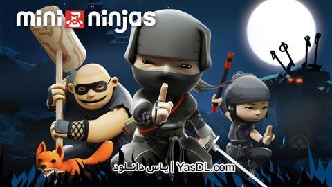دانلود بازی Mini Ninjas 1.4.4 - مینی نینجا برای اندروید - پول بی نهایت