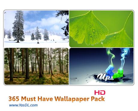 دانلود مجموعه 365 والپیپر گوناگون Must Have HD-Wallpaper Pack