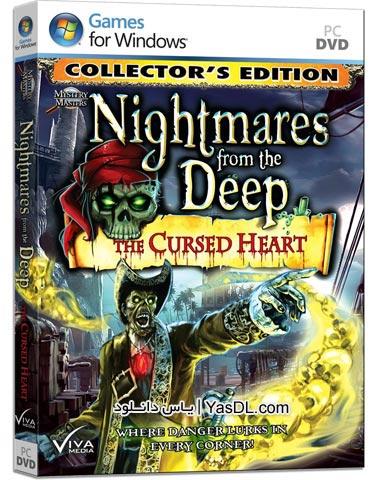 دانلود بازی Nightmares from the Deep The Cursed Heart Collectors Edition برای PC