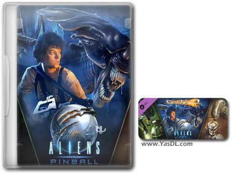 دانلود بازی Pinball FX2 Aliens vs Pinball برای کامپیوتر