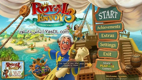 دانلود بازی Royal Envoy 3 Collectors Edition برای PC
