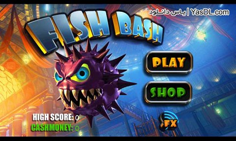 دانلود بازی Fish Bash 1.0 برای آندروید