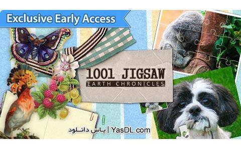 دانلود بازی کم حجم 1001Jigsaw Earth Chronicles برای PC