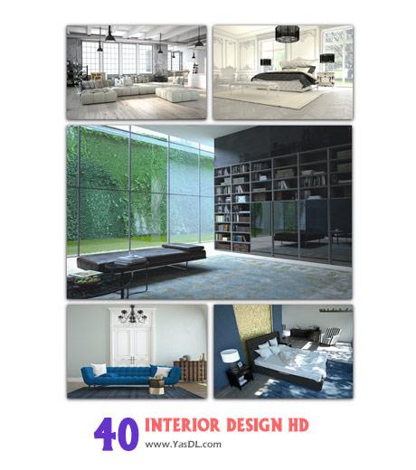 دانلود مجموعه 40 والپیپر دکوراسیون خانگی Interior Design HD Wallpapers