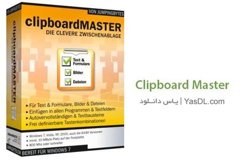 دانلود Clipboard Master نرم افزار مدیریت حافظه کلیپ بورد