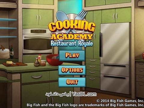 دانلود بازی کم حجم Cooking Academy: Restaurant Royale برای PC