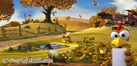 دانلود بازی Crazy Chicken Deluxe 2.6.0   جوجه دیوانه برای اندروید