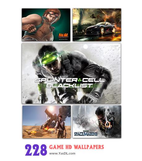 دانلود مجموعه 228 والپیپر گیم Games HD Wallpapers