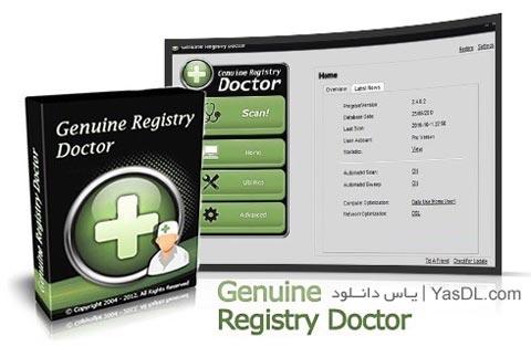 دانلود Genuine Registry Doctor 2.6.9.8 - نرم افزار بهینه سازی و تعمیر رجیستری