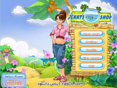 دانلود بازی کم حجم Jennys Fish Shop برای PC