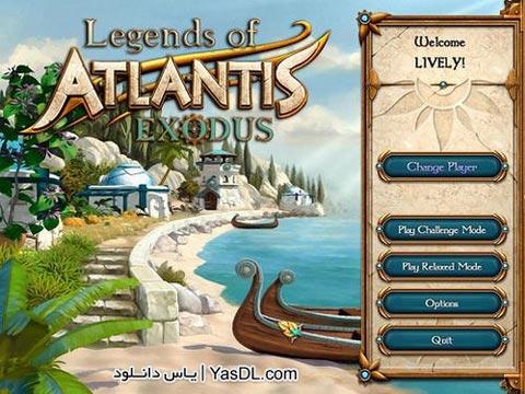 دانلود بازی Legends of Atlantis Exodus برای PC