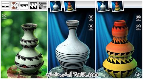 دانلود بازی Lets Create! Pottery سفالگری برای اندروید + پول بی نهایت