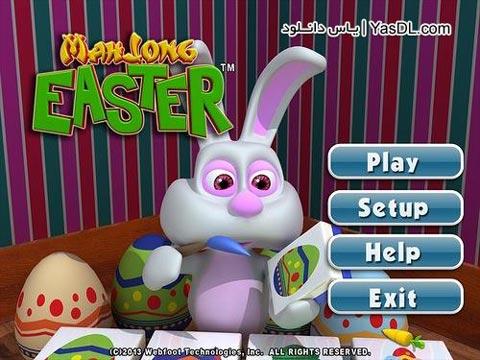 دانلود بازی کم حجم Mahjong Easter برای PC