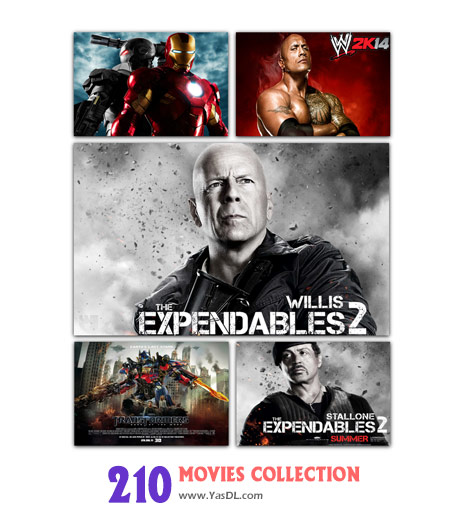دانلود مجموعه 210 والپیپر فیلم Movies Collection Wallpapers
