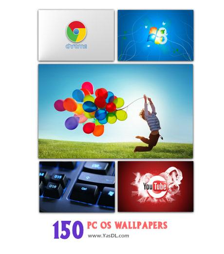دانلود مجموعه 150 والپیپر دسکتاپ PC OS Wallpapers