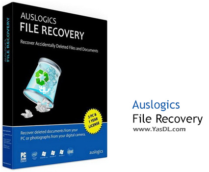 دانلود Auslogics File Recovery 6.1.2 + Portable - نرم افزار بازیابی اطلاعات هارد