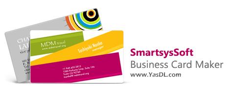 دانلود SmartsysSoft Business Card Maker 3.26 + Portable - نرم افزار طراحی کارت ویزیت