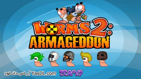 دانلود بازی Worms 2 Armageddon 1.4.1 - کرم ها 2 برای اندروید