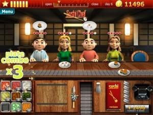دانلود بازی کم حجم Youda Sushi Chef 2 برای PC