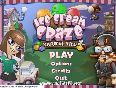 دانلود بازی کم حجم Ice Cream Craze 3: Natural Hero برای PC