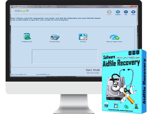 Aidfile Recovery Software 3.7.0.6 Recover Deleted Files
