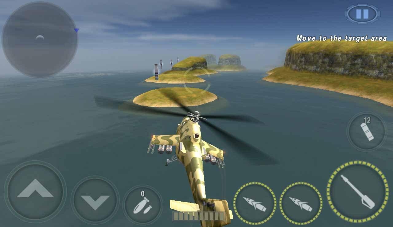 دانلود بازی هلیکوپتر جنگی GUNSHIP BATTLE Helicopter 3D 2.5 ...
