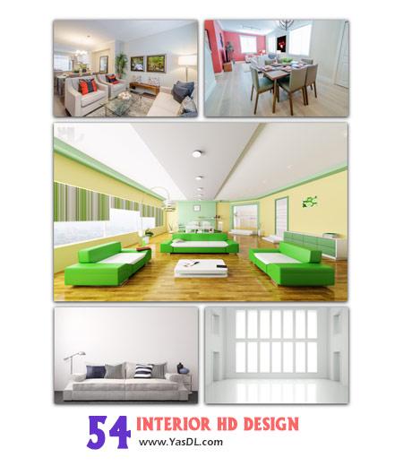 دانلود مجموعه 54 والپیپر طراحی دکوراسیون خانگی Interior Design HD