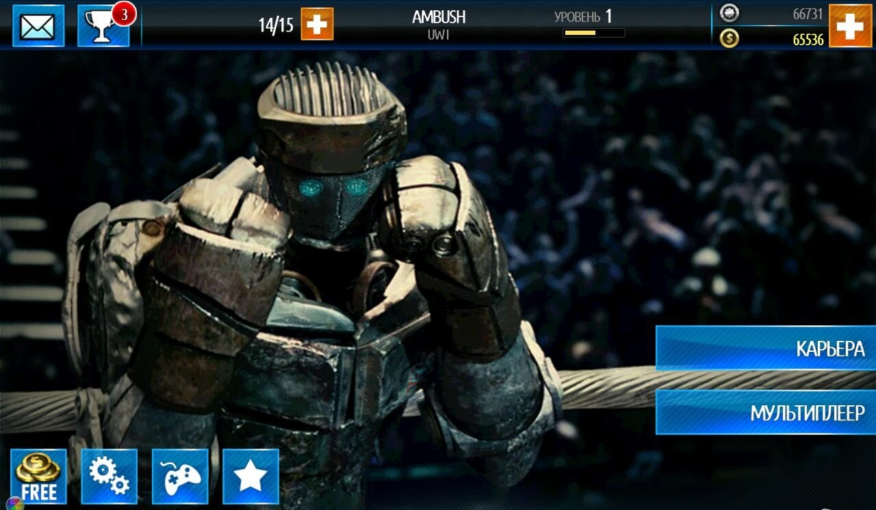 Real Steel World Robot Boxing 50.50.125 For Android Infinite