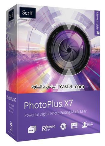 دانلود Serif PhotoPlus X7 17.0.0.18 - نرم افزار ویرایش حرفه ای تصاویر