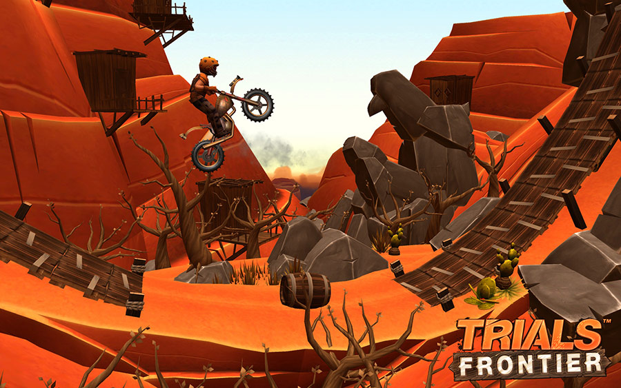 Trials Frontier 7.4.0 For Android + Infinity Edition