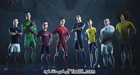 دانلود انیمیشن تبلیغ شرکت نایک جام جهانی 2014 برزیل + دوبله فارسی گلوری