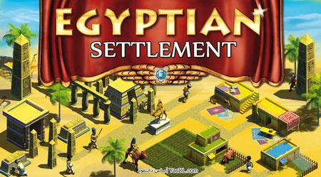 دانلود بازی Egyptian Settlement برای کامپیوتر