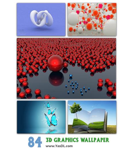 دانلود مجموعه 84 والپیپر سه بعدی 3D Graphics Wallpaper