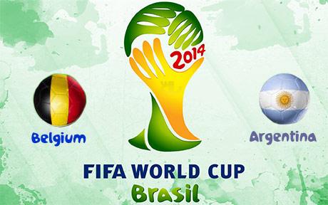 دانلود خلاصه بازی آرژانتین و بلژیک - جام جهانی 2014