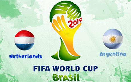 دانلود خلاصه بازی هلند و آرژانتین - جام جهانی 2014
