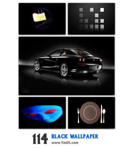 دانلود مجموعه 114 والپیپر سیاه Black Wallpaper