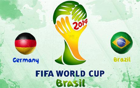 دانلود خلاصه و گل های بازی برزیل و آلمان - جام جهانی 2014