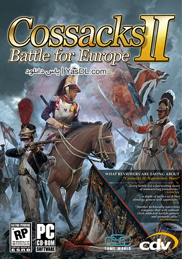 دانلود بازی Cossacks II Battle for Europe برای PC