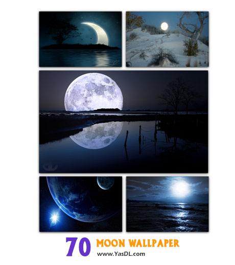 دانلود مجموعه 70 والپیپر ماه Moon Wallpaper