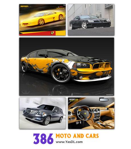دانلود مجموعه 386 والپیپر موتور و ماشین Moto and Cars Wallpaper