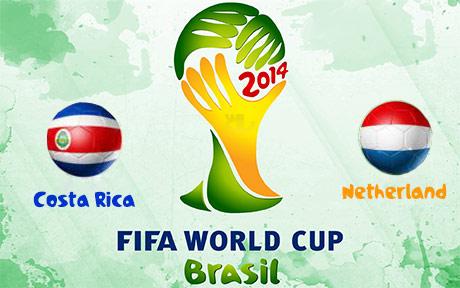 دانلود خلاصه بازی هلند و کاستاریکا - جام جهانی 2014