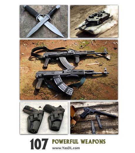 دانلود مجموعه 75 والپیپر جنگ افزارهای نظامی Powerful Weapons