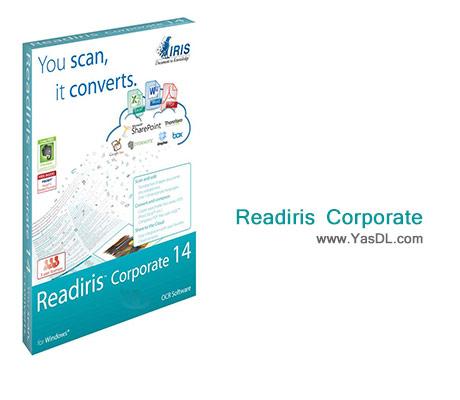 دانلود Readiris Corporate 15.1.0 Build 7155 + Portable - نرم افزار تبدیل PDF و عکس به متن + پشتیبانی از زبان فارسی
