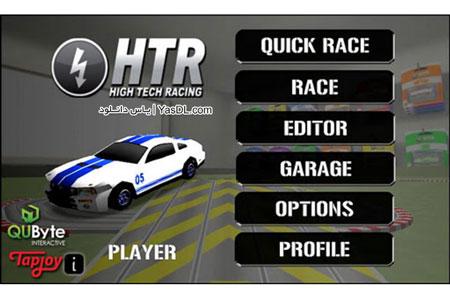 دانلود بازی High Tech Racing 2.0.7 برای اندروید