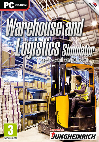 دانلود بازی Warehouse and Logistic Simulator 2014 برای PC
