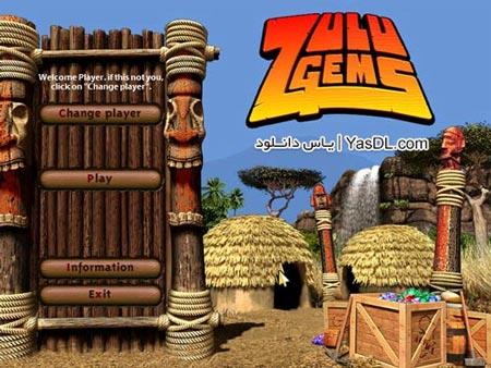 دانلود بازی کم حجم Zulu Gems برای کامپیوتر